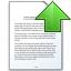 Document Up Icon 64x64