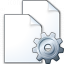 Documents Gear Icon 64x64
