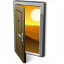 Door 2 Open Icon 64x64