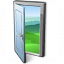 Door Open Icon 64x64