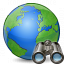 Earth Find Icon 64x64