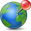 Earth Location Icon 64x64