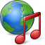 Earth Music Icon 64x64