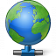 Earth Network Icon 64x64