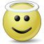 Emoticon Angel Icon 64x64