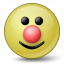 Emoticon Clown Icon 64x64