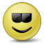 Emoticon Cool Icon 64x64