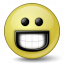 Emoticon Grin Icon 64x64