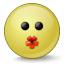 Emoticon Kiss Icon 64x64