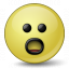 Emoticon Surprised Icon 64x64