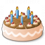 Fancy Cake Icon 64x64