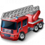 Fire Truck Icon 64x64