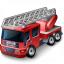 Fire Truck Icon 64x64
