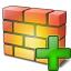 Firewall Add Icon 64x64