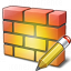 Firewall Edit Icon 64x64