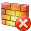 Firewall Error Icon 64x64