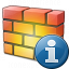 Firewall Information Icon 64x64