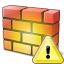 Firewall Warning Icon 64x64
