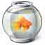 Fish Bowl Icon 64x64