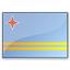 Flag Aruba Icon 64x64