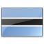 Flag Botswana Icon 64x64