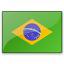Flag Brazil Icon 64x64