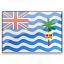 Flag British Indian Ocean Territory Icon 64x64