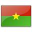 Flag Burkina Faso Icon 64x64