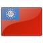 Flag Burma Icon 64x64