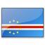 Flag Cape Verde Icon 64x64