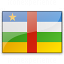 Flag Central African Republic Icon 64x64