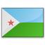 Flag Djibouti Icon 64x64