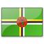 Flag Dominica Icon 64x64