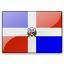 Flag Dominican Republic Icon 64x64