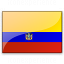 Flag Ecuador Icon 64x64