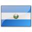 Flag El Salvador Icon 64x64