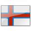 Flag Faeroe Islands Icon 64x64