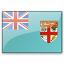 Flag Fiji Icon 64x64