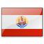 Flag French Polynesia Icon 64x64