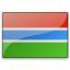 Flag Gambia Icon 64x64