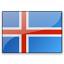 Flag Iceland Icon 64x64