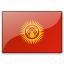 Flag Kyrgyzstan Icon 64x64