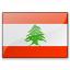 Flag Lebanon Icon 64x64