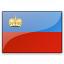 Flag Liechtenstein Icon 64x64