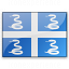 Flag Martinique Icon 64x64