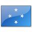 Flag Micronesia Icon 64x64