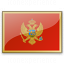 Flag Montenegro Icon 64x64