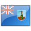 Flag Montserrat Icon 64x64