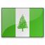 Flag Norfolk Island Icon 64x64