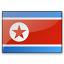 Flag North Korea Icon 64x64